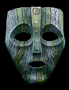 Mask Inspired by K Chi Ch Anime Cosplay Accessories Mask Green / Gray Resin Male / Female
