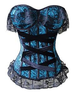 YUIYE® Magic Overwear Bra Up Corset Vest Sexy Body Shaper Waist Cincher Trainer Lift Waist Trainer Green Plus Size