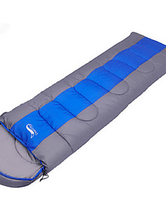 Sleeping Bag Rectangular Bag Single -10℃~-0℃~+10℃ Hollow Cotton 220X75 Hiking Camping Waterproof Dust Proof Windproof