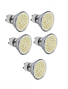 4W GU10 / GU5.3(MR16) / E26/E27 Spot LED MR16 60SMD SMD 2835 300 - 400LM lm Blanc Chaud / Blanc Froid DécorativeAC 100-240 / DC 12 / AC