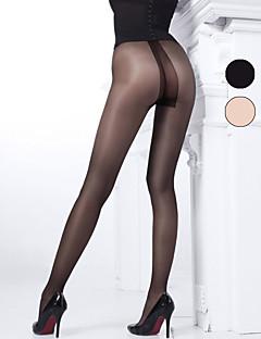 BONAS® Damen Einheitliche Farbe Dünn Legging-B16592