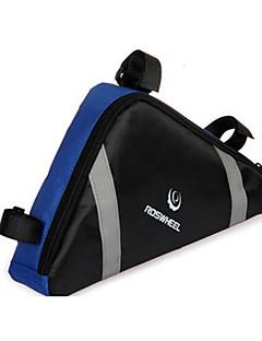 ROSWHEEL® תיק אופניים 2.2Lתיקים למסגרת האופניים רוכסן עמיד למים / עמיד ללחות / חסין זעזועים / ניתן ללבישה תיק אופניים פי וי סי / בדתיק