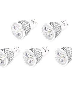10W GU10 / E26/E27 Spot LED MR16 5 LED Haute Puissance 800 lm Blanc Chaud / Blanc Froid Décorative AC 85-265 V 5 pièces