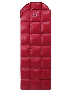 침낭 직사각형 침낭 싱글 5°C 아래 400g 210X70 캠핑 호흡 능력 / 추운 날씨 / 플란넬 줄 지어 Yunyi