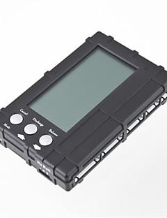 3IN1의 RC의 2S-6S 사러 리튬 철 배터리 밸런서 액정 등록 무료 배송 전압 미터 테스터 배출기