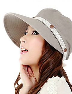 Women Summer Solid Lace Sun Hat Travelling Holidays Hats