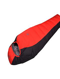 침낭 미라형 침낭 싱글 0°C 오리다운 1,500g 210X70 캠핑 호흡 능력 / 추운 날씨 Mountain