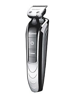 Elektrisk barbermaskin Barter og skjegg Elektrisk Vanntett Våt/Tørr Barbering Rustfritt stål