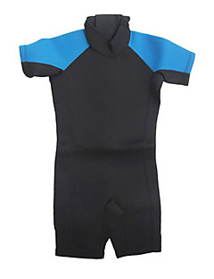Crianças 3mm Roupas de mergulho Baixinho Wetsuits Compressão Neoprene Tactel Fato de Mergulho Roupas de Mergulho-Mergulho Surfe