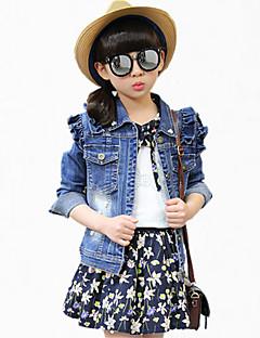 Girl's Blue Jeans,Cartoon Cotton Spring / Fall