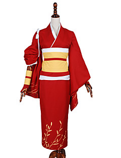 Inspirado por Outros Outros anime Cosplay Costumes Ternos de Cosplay Cor ÚnicaCasaco / Capa de Kimono / Bracelete de Braço / Luvas /