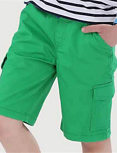 Boy's Cotton Shorts,Summer Solid