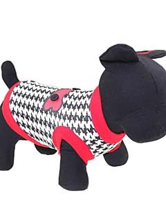 猫用品 / 犬用品 Tシャツ レッド 犬用ウェア 夏 花/植物 ファッション