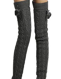 Women Warm Stockings,Acrylic / Polyester