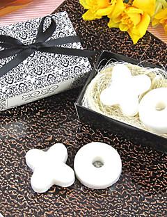 %100 Doğal İçerik Pratik Şekerleri-1 Banyo ve Sabunlar Kumsal Teması / Bahçe Teması / Çiçek Teması / Kelebek Teması Beyaz 6*6*3.5