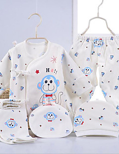 Baby Casual/Daily Print Clothing Set-Cotton-All Seasons-