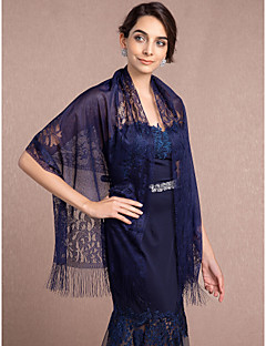 Wraps WeddingPizzo / Tulle-Nero / Blu / Bordeaux / Bianco / Royal blu