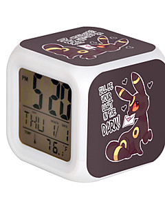 Hodiny / hodinky Inspirovaný Pocket Little Monster Cosplay Anime Cosplay Doplňky Hodiny / hodinky Czarny Pryskyřice Pánský Dámský