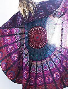 Damen Cover-Up - Floral Chiffon Stirnband