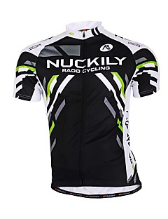 Sports Cycling Jersey Men's Short Sleeve Bike Breathable / Sweat-wicking Jersey + Shorts / Tops / Bottoms Terylene / Tactel / Chinlon Slim
