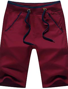 Erkek Basit Normal Bel Chinos Düz Salaş Pantolon Solid