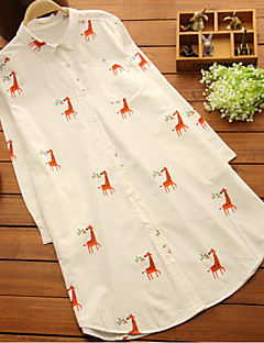 Maternity Shirt Collar Ruched Shirt,Cotton Long Sleeve