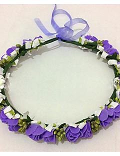 Women's Foam Headpiece-Wedding Wreaths 1 Piece Flower 50cm