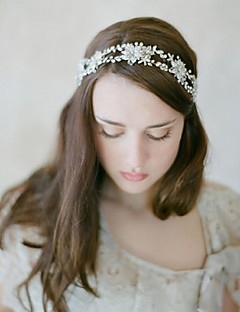 Women's Rhinestone / Alloy /Wedding / Special Occasion / Casual Headbands / Flowers / Head Chain / Hair Tool 1 Piece F151