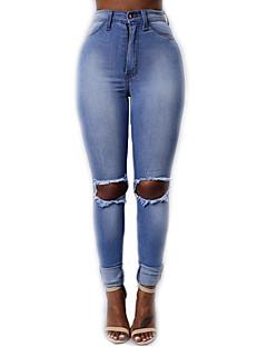 Women Shredded Legging,Cotton