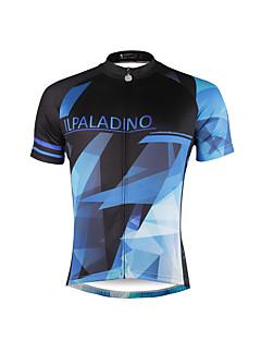 PALADIN® Camisa para Ciclismo Homens Manga Curta MotoRespirável / Secagem Rápida / Resistente Raios Ultravioleta / Reduz a Irritação /