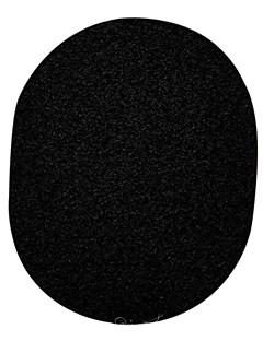 Keqi ® zwarte bamboe houtskool super schoon gezicht en bad spons 1 stuk met doos