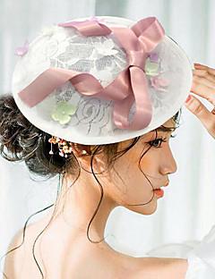 Donne Raso Pizzo Copricapo-Matrimonio Occasioni speciali Copricapo Cappelli 1 pezzo