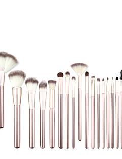 18 סטי מברשת שיער סינטטי מקצועי עץ פנים אחרים