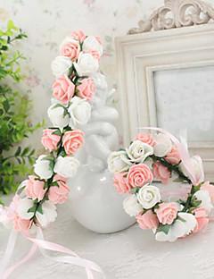 Women's Foam Headpiece-Wedding / Special Occasion / Casual / Outdoor Wreaths 1 Piece