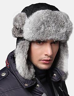 スキーの帽子