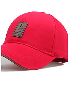 Men Cotton Baseball Cap,Work / Casual All Seasons
