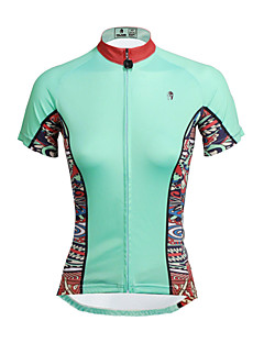 PALADIN® Cycling Jersey Women's Short Sleeve BikeBreathable / Quick Dry / Ultraviolet Resistant / Soft / Compression / Lightweight
