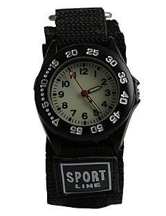 The Trend of Nylon with Luminous Sports Style Children Watch
