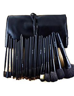 22 Makeup Brushes Set Horse Full Coverage Wood Face ShangYang(Brush Package)