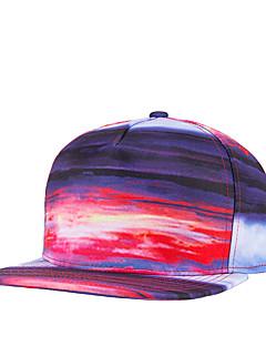 ユニセックス ポリエステル ベースボールキャップ,カジュアル オールシーズン
