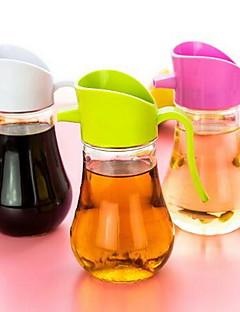 1 Küche Küche Glas Ölflaschen 8*8*14.5CM
