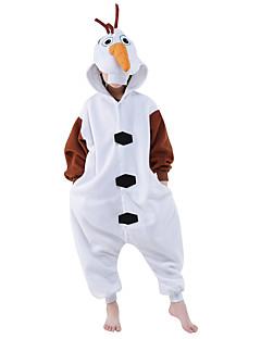 NEWCOSPLAY Olaf Polar Fleece Toilet version Children Kigurumi Pajama (without Shoes)