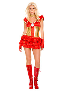 Cosplay Kostuums Feestkostuum Superhelden Festival/Feestdagen Halloweenkostuums Patchwork Kleding Meer Accessoires Halloween Vrouwelijk