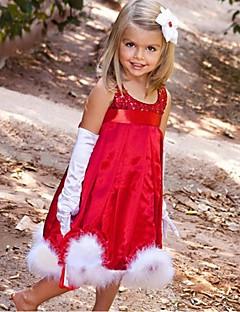 Sequin Red Sleeveless Flower Girl Dresses Pageant Dresses For Girls Party Dress Halloween dress Vestidos