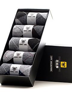 DOUBLE LIONS® Herren Polyester Socken 5 / box-MM0025