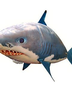 Radiografisch Bestuurbaar Opblaasbaar Shark Cool Creatief Origineel speelgoed Bruin Nylon