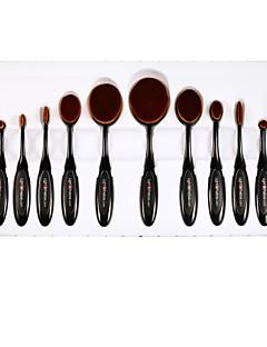 Lightinthebox® Makeup Brushes Set Synthetic Hair Professional Full Coverage 10 Pcs