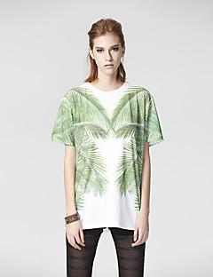 Herz Soul® Damen Rundhalsausschnitt Kurze Ärmel T-Shirt Weiß-26AD23237