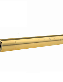 U`King ZQ-J15C Blue Laser Pointer Adjustable Focus Set (5MW 445nm Gold / Silver)