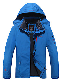 Hiking Softshell Jacket Men's Waterproof / Breathable / Thermal / Warm / Quick Dry / Windproof / Wearable /Spring /